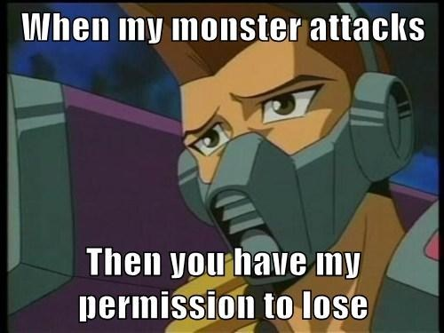 you have my permission to anime bane Yu Gi Oh tristan taylor - 7806012672