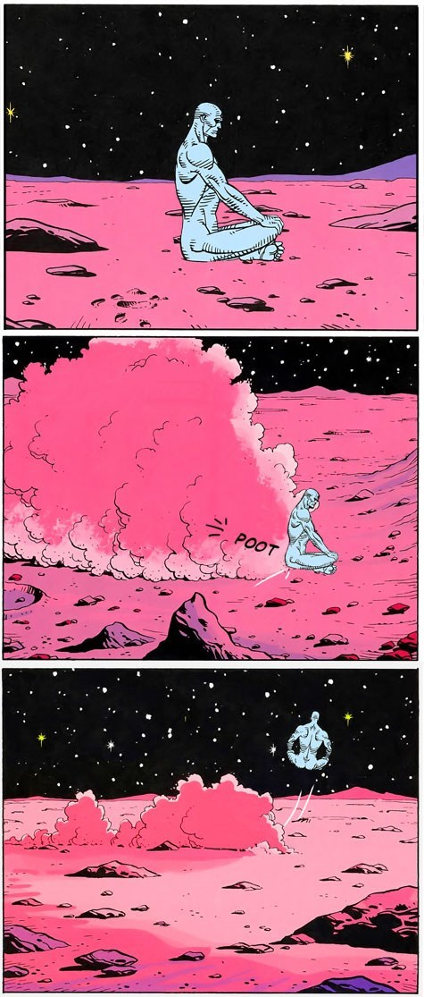 doctor manhattan watchmen off the page Mars - 7806232832