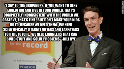 bill nye evolution science adults quote funny children - 7806514432