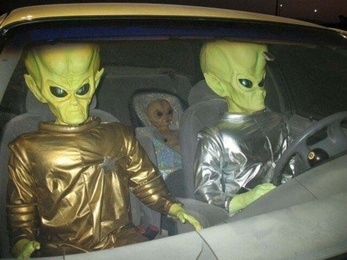 Aliens,wtf,driving,passports,funny