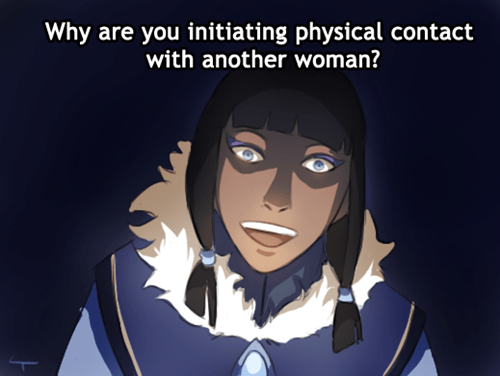 overly attached girlfriend,eska,cartoons,korra