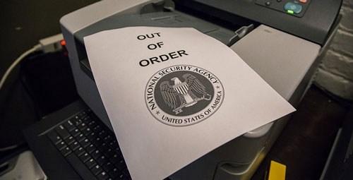 NSA fax pentagon