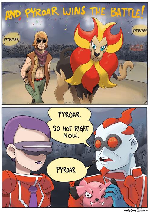 art comics Pyroar - 7806786304