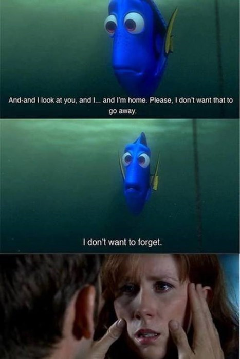 crossover doctor who finding nemo donna noble dory - 7806833664