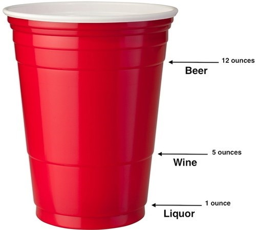 Red Solo Cup beer booze wine liquor funny - 7807070464
