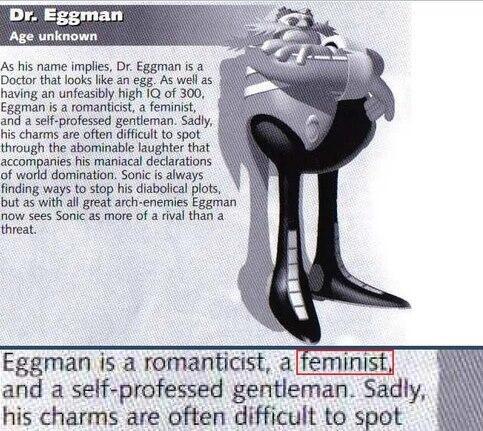 dr-eggman feminism sonic - 7807094272