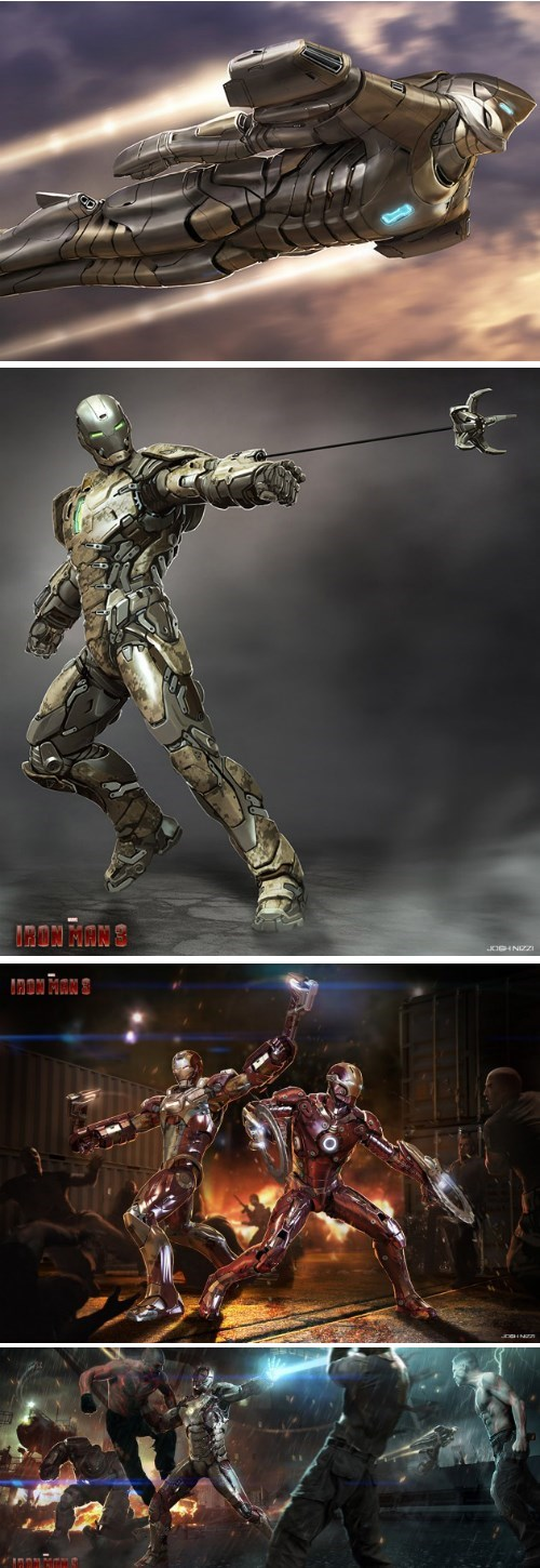 iron man iron man 3 concept art