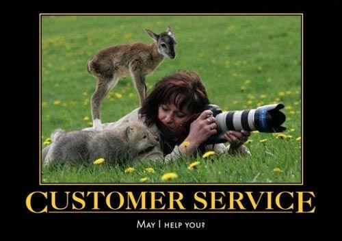 customer service cute funny animals - 7807109120