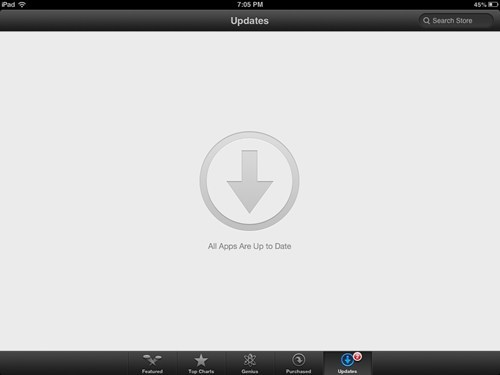 ipad updates ocd - 7807322112
