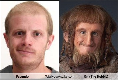 facundo,The Hobbit,totally looks like,ori,funny