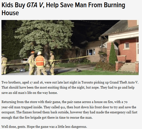news,grand theft auto v,restoring faith in humanity week,Grand Theft Auto