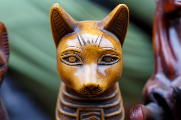ancient gods worship Cats - 7809029