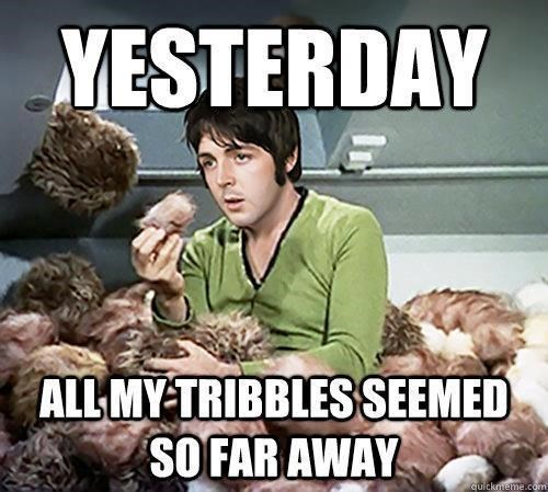 beatles tribbles paul mccartney Star Trek - 7809140480