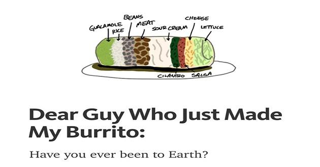 hilarious tips burrito rant burritos funny - 7809541