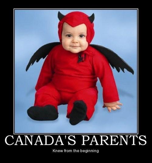 Canada,kid,devil,funny