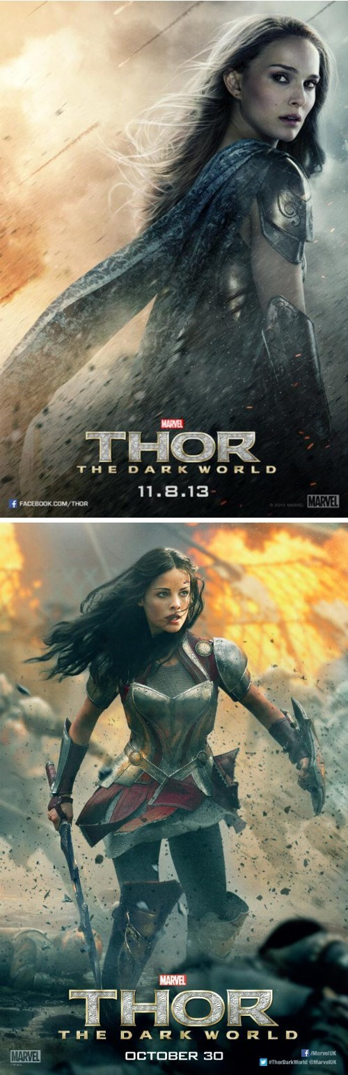 jane foster Thor sif character poster - 7809589504