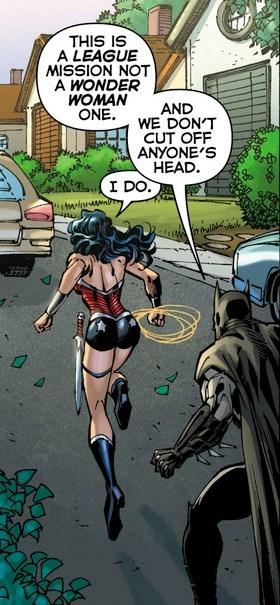 wonder woman off the page justice league batman - 7809609472
