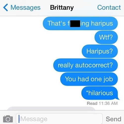 New Look, Same Old Autocorrect