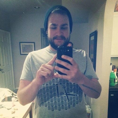 subtle photobomb selfie funny - 7809712896