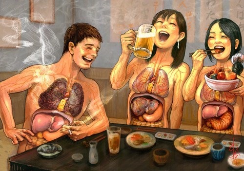 wtf organs Japan smoking funny - 7809770240