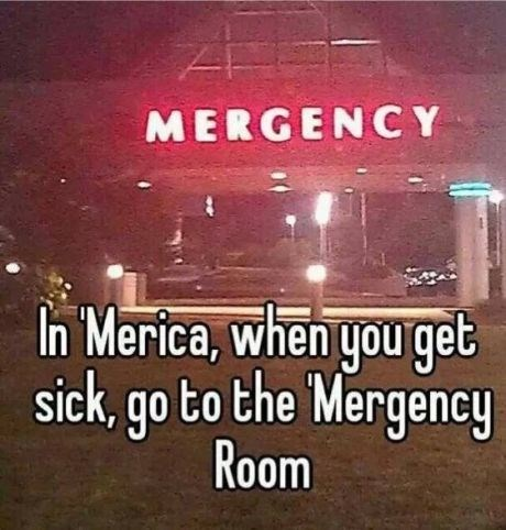 sign hospital funny fail nation g rated - 7809880832