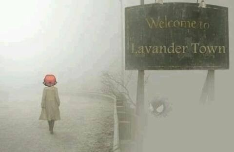 crossover Pokémon lavender town silent hill - 7810025216
