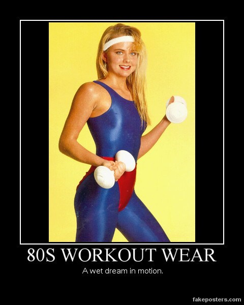 workout 80s sexy times funny - 7810784000
