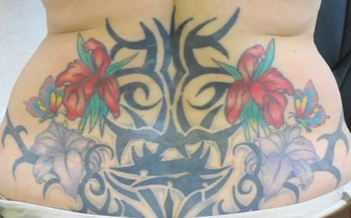 tattoos tribal trampstamp funny - 7811135488