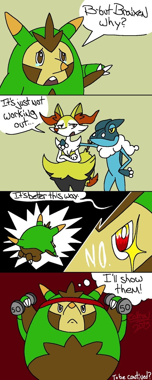 Pokémon quilladin comics - 7812153600