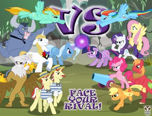 mane 6,Epic Battle,rivals