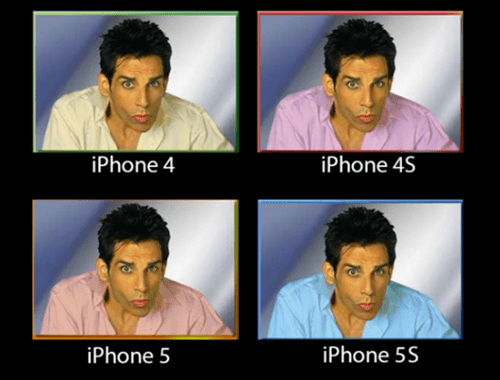 iPhones zoolander apple ios 7 monday thru friday g rated - 7813013504