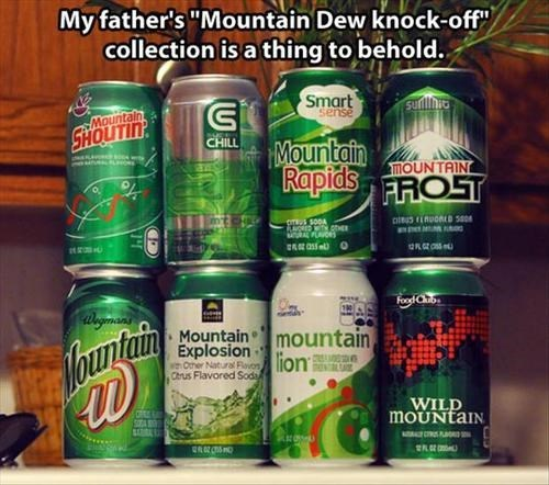 soda store brand soda mountain dew knockoffs