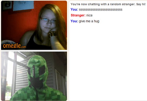 omegle is full of creepers