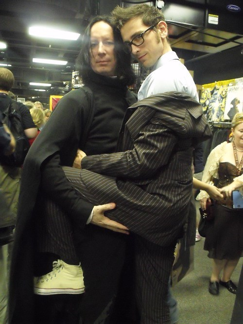 cosplay,Harry Potter,10th doctor,snape,doctor who