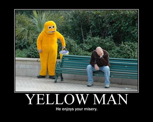 wtf yellow man creepy funny - 7813067008