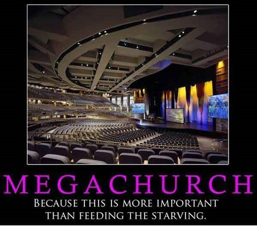 megachurch wtf church funny money