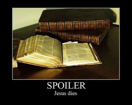 jesus bible spoilers funny - 7813202688