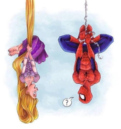 webslinger rapunzel Spider-Man - 7813240832