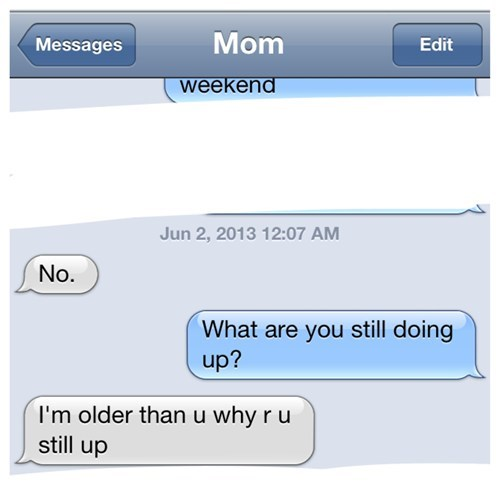 bedtime text moms parenting funny - 7813338880