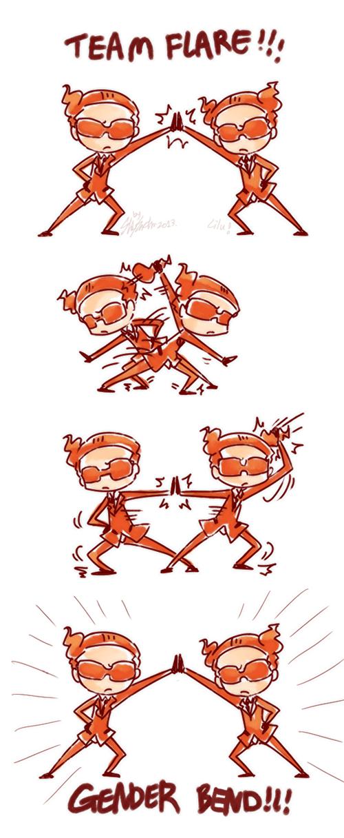 art,team flare