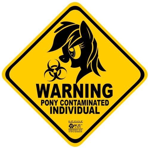 warning brony pony contamination - 7814209792