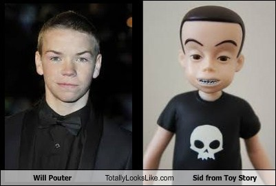 toy story,will pouter,totally looks like,funny,sid