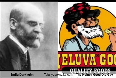 emile durkheim,old guy,totally looks like,beards