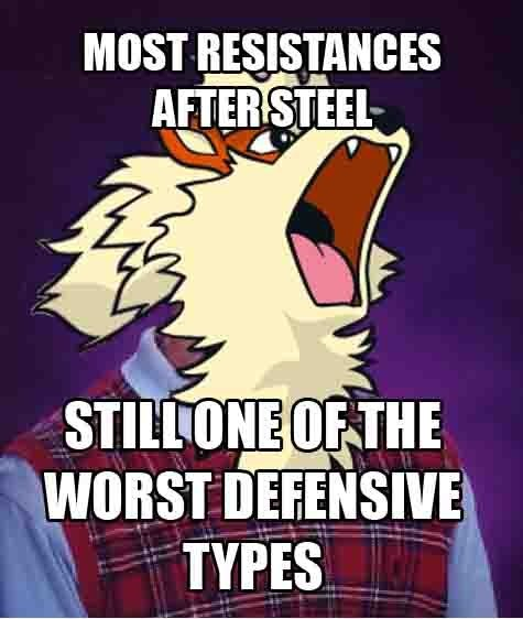 Memes fire types bad luck