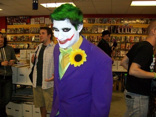 cosplay joker superheroes batman - 7816272384