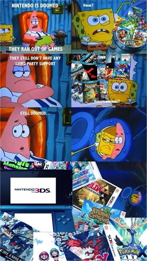doom comics SpongeBob SquarePants gamers video games nintendo - 7816646656