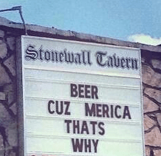 beer sign america funny - 7816733440