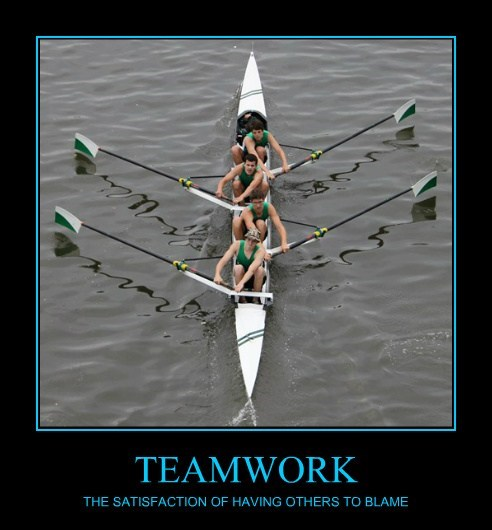 others teamwork blame funny - 7816764416