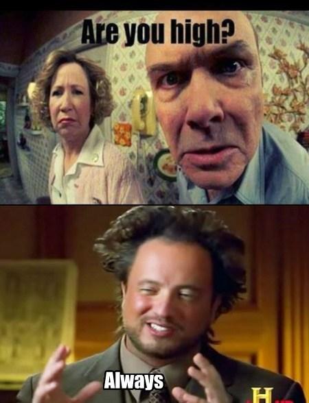 Aliens that 70's shows funny parents - 7816996864