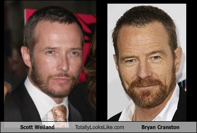 bryan cranston,totally looks like,white people,funny,Scott Weiland
